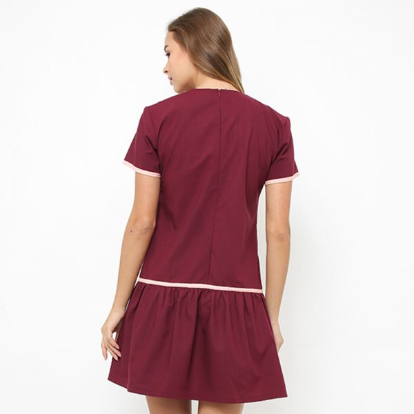 MAROON_Plain_Back